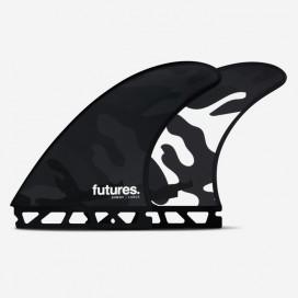 Quillas Thruster - Jordy SMITH RTM Hex Black/White Camo design - L, FUTURES.