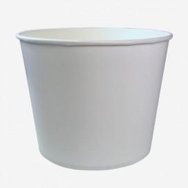 Baquet 2.95 L (104oz) ø 188mm h.147mm en carton/PE blanc