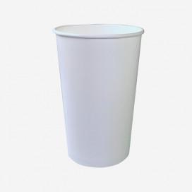 Tina de cartón 0.94 Litros (32oz) ø 116 h.132 mm Blanco