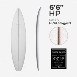 "Pain EPS Super Fused 6'6'' Shortboard, latte 1/8"""" Ply"