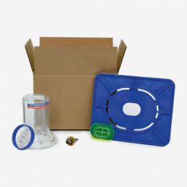 Futures leash plug installation kit