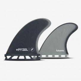 Pyzel Padillac Quad fins - FUTURES.
