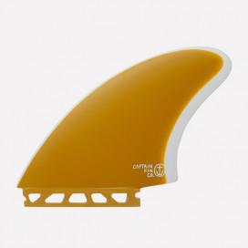 Captain Fin co. Twins / Keels Single Tab - CF Yellow