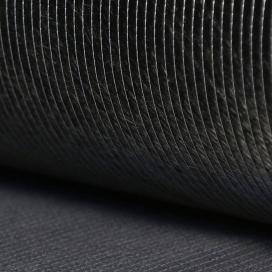 Tejido hybrid E-glass & carbon todos 20mm - 145gr/m - 4,3oz - anchura 76cm