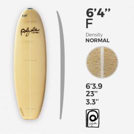 6'4'' F Fish - costilla 4mm Ply, POLYOLA