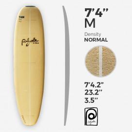 7'4'' M Malibu - costilla 4mm Ply, POLYOLA