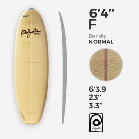 6'4'' F Fish - costilla 4mm Cedar, POLYOLA