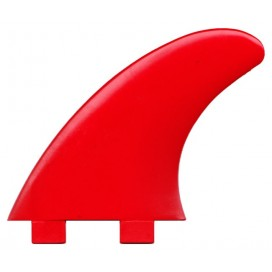 Dérives Thruster Fiber-Flex Tip Rouges, DERIVES THRUSTERS COMPATIBLES FCS pour planches de surf - VIRAL Surf for shapers