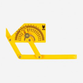 Measuring tool for fins angle