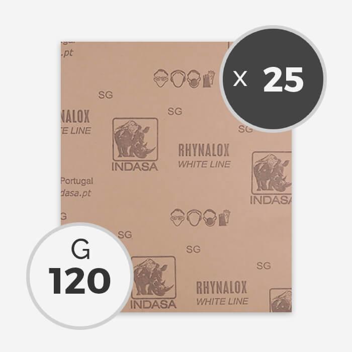 papier a poncer a sec grain 120 25 feuilles abrasifs pour le shape de planche de surf. Black Bedroom Furniture Sets. Home Design Ideas