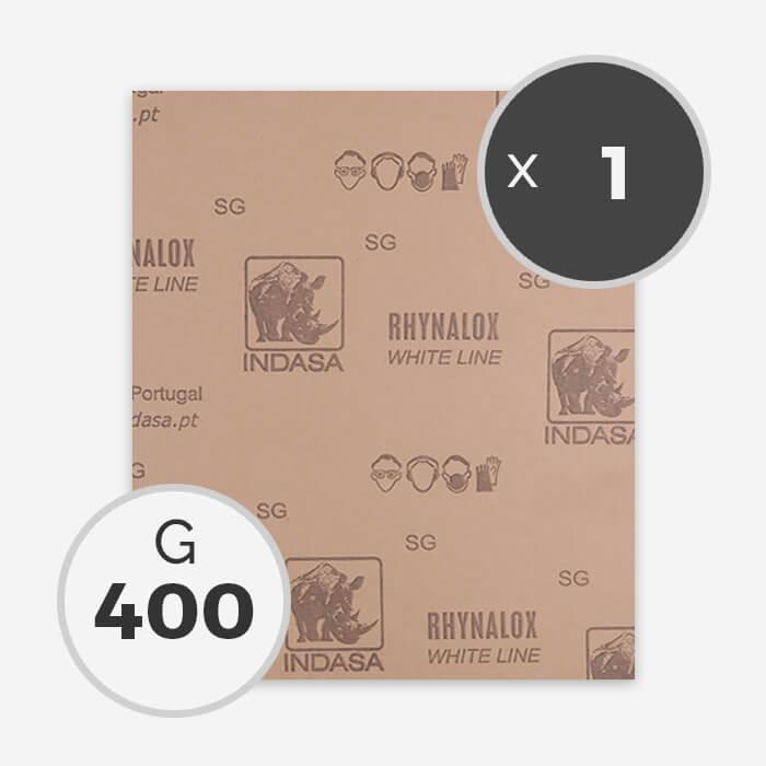 papier a poncer a sec grain 400 1 feuille pour le. Black Bedroom Furniture Sets. Home Design Ideas