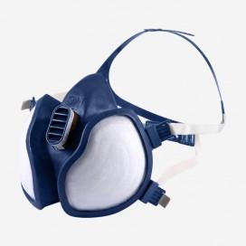 3M 4255 (A2P3), mascarilla 3M de 2 filtros de carbono fijos