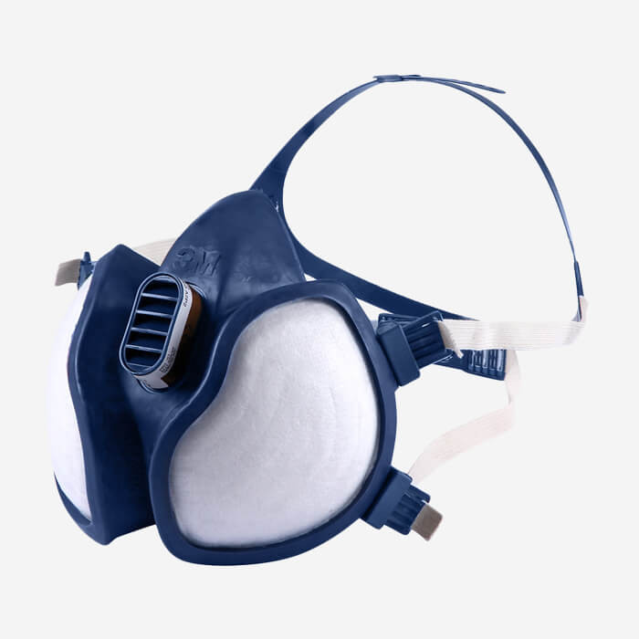 Masque de protection vapeurs et particules 4251 (A1P2), 3M