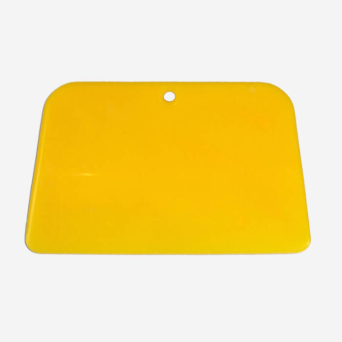 """Squeegee de finition en plastique 4"""" (10,20cm)"""