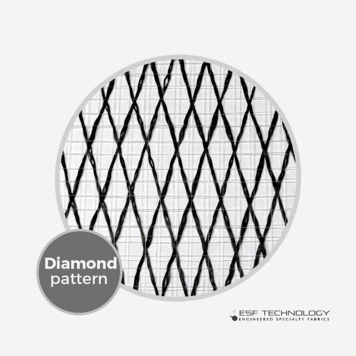 "Vector Net XP 227 - 1/2"" Diamond Pattern (50cm)"