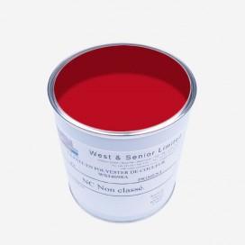 Pigmento color Signal Red