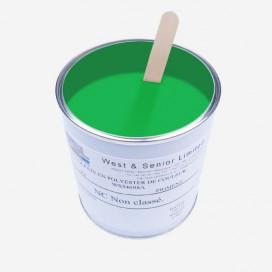 Fluorescent Green tint pigment