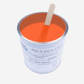 Pigment opaque orange fluorescent - 500 gr