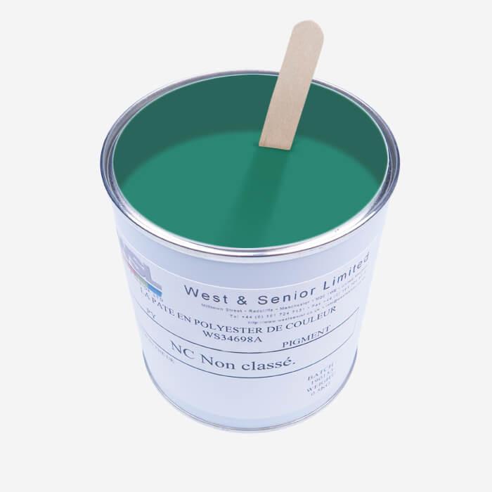 Translucent Blue Green tint pigment