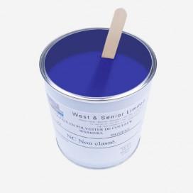 Pigment translucide couleur Bleu