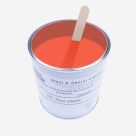 Pigment translucide couleur Rouge