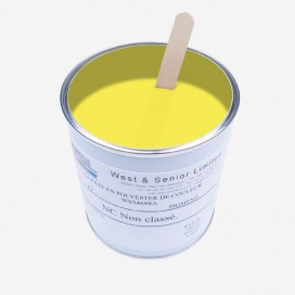 Pigment translucide couleur Jaune