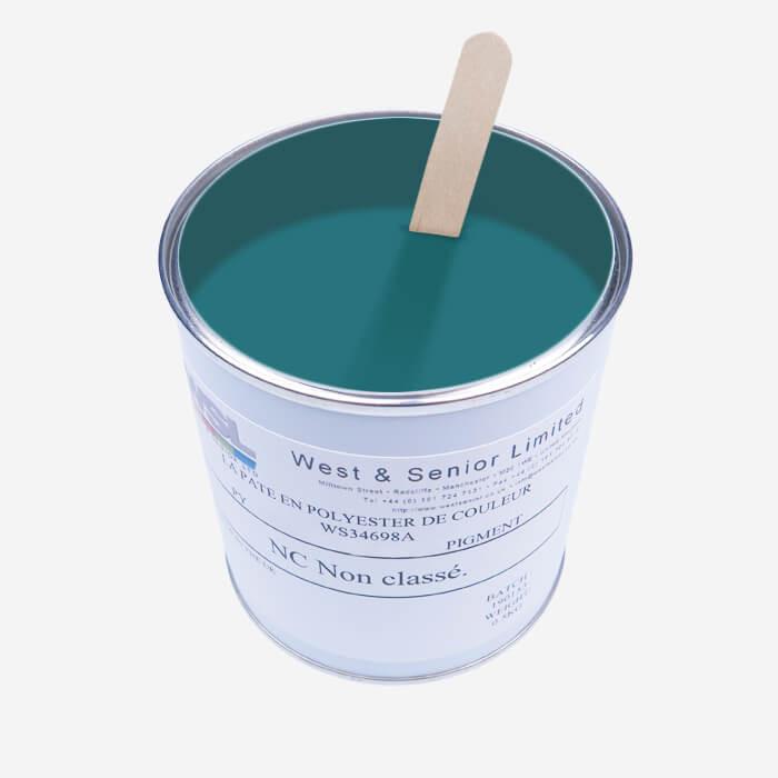 Pigment translucide Turquoise - 500 gr