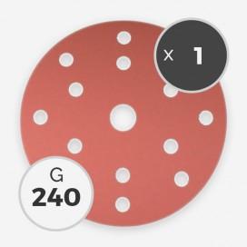 Disque à poncer - diam. 150mm - grain 240 (1 disque), INDASA