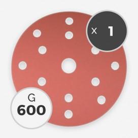 Disque à poncer - diam. 150mm - grain 600 (1 disque), INDASA