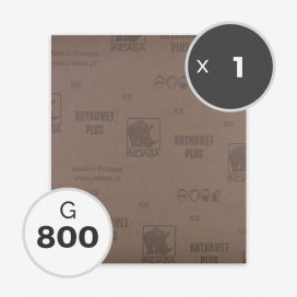 PAPEL DE LIJA AL AGUA - GRANO 800 (1 HOJA)