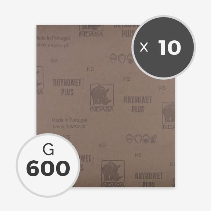 papier a poncer a eau grain 600 10 feuilles pour le. Black Bedroom Furniture Sets. Home Design Ideas