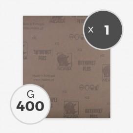 Papier à poncer à eau - grain 400 (1 feuille)