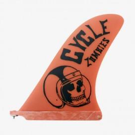 "CAPTAIN FIN CO - Longboard Pivot Fin - Cycle Zombies Crash Helmet 10"""