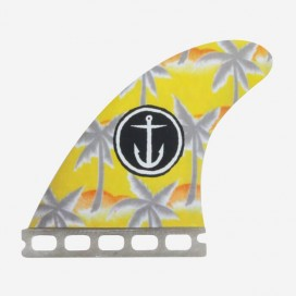 "Captain Fin co. thruster fins Team ""Palm Trees"" 4.65"""