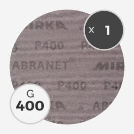 Disque abrasif Abranet diamètre 200mm - grain 400, MIRKA