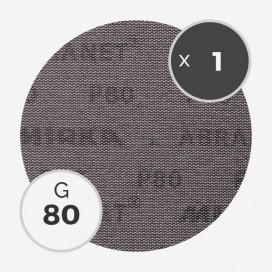 Disque abrasif Abranet diamètre 200mm - grain 80, MIRKA
