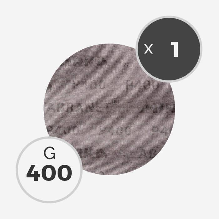 Disque abrasif Abranet diamètre 150mm - grain 400, MIRKA