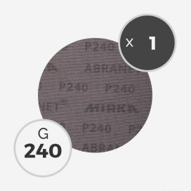 Disque abrasif Abranet diamètre 150mm - grain 240, MIRKA