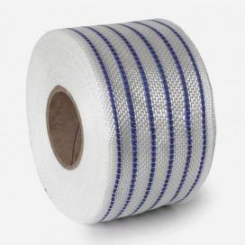 Bande de renfort hybride fibre de verre et PolyFlex neon bleu, largeur 80mm