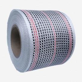 Banda de refuerzo carbono y fibra de vidrio - hilos rojo