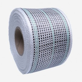 Carbon Fiber Tape mixed with Fibreglass and GREEN strands