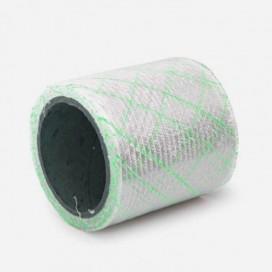 Bande de renfort hybride quadriaxiale fibre de verre et fils Polyflex verts, 100mm