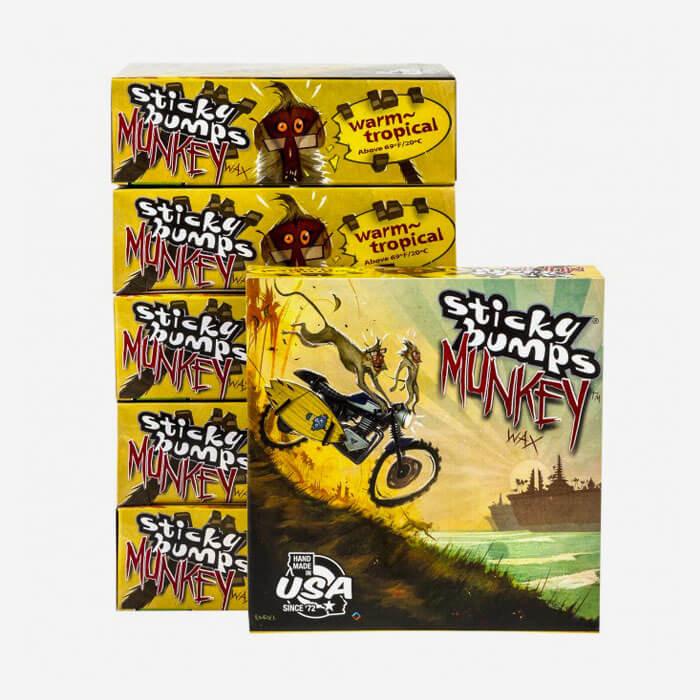 Sticky Bumps Munkey Warm / Tropical Water Surf Wax