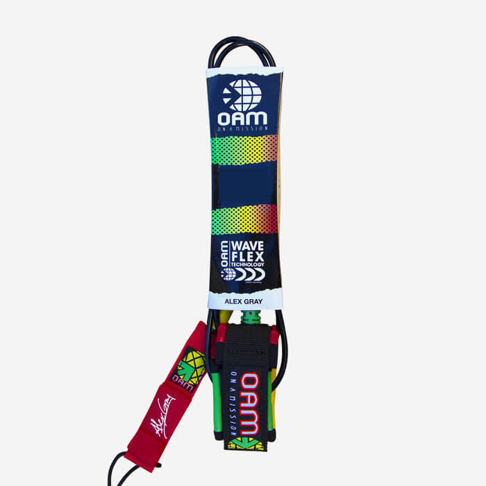 REGULAR LEASH 9'' - Rasta