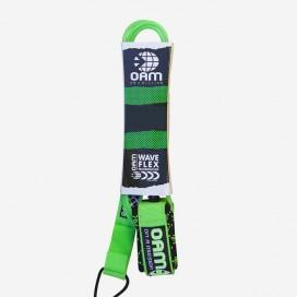REGULAR LEASH 6'' - Lime Green Gucci