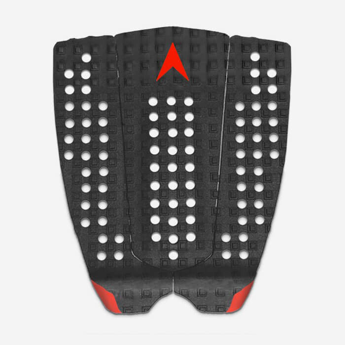 Astrodeck Kolohe Andino no arch 3 pieces pad - Black