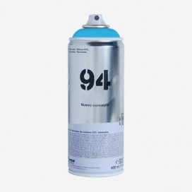 Bombe de peinture Montana MTN 94 - Bleu Argo