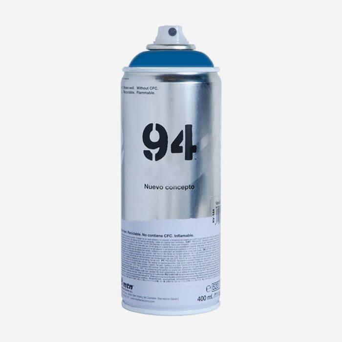 Bombe de peinture Montana MTN 94 - Bleu Electrique