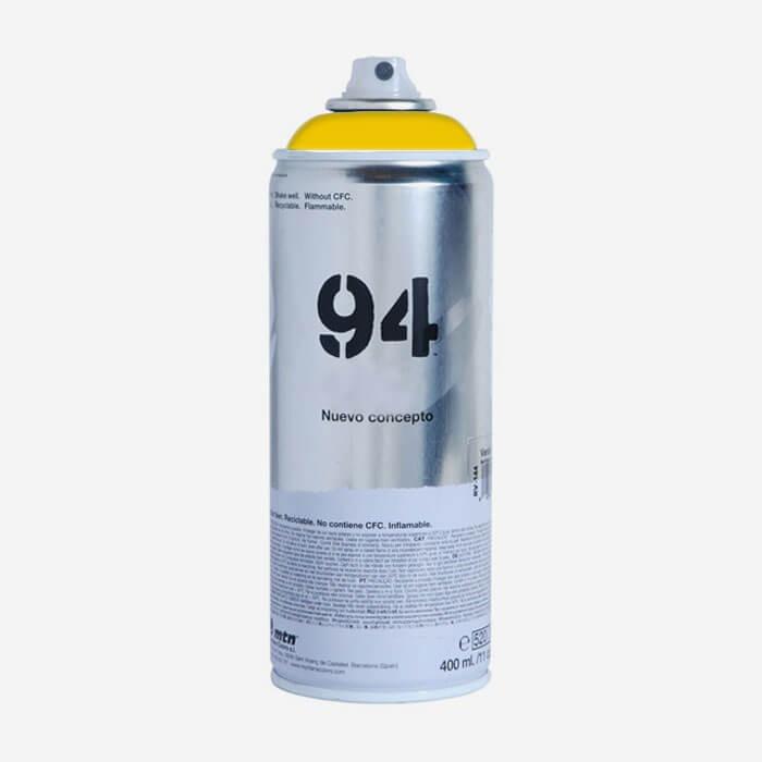bombe de peinture montana mtn 94 jaune eldorado bombes de peintures montana pour planches de. Black Bedroom Furniture Sets. Home Design Ideas