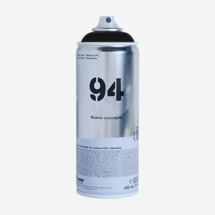 Montana 94 Black spray paint